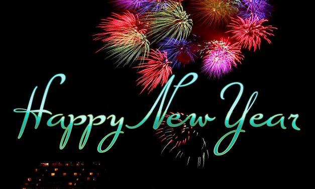 Vill Gléck am neien Joër // Meilleurs voeux pour la nouvelle année